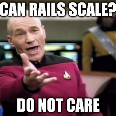 Does ruby on rails scale?