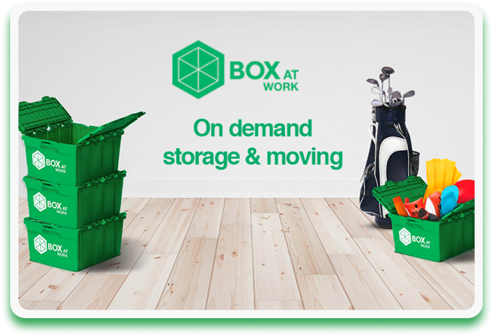 On Demand Storage and Moving. Syndicode portfolio
