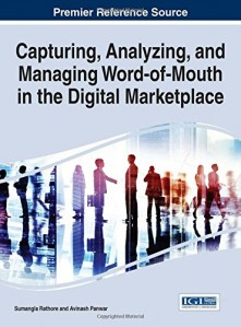 13 books will make you expert in online marketplaces. Capturing, Analyzing, and Managing Word-of-Mouth in the Digital Marketplace