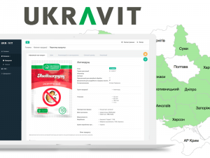 UKRAVIT: CRM for agro business company. Syndicode