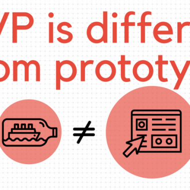 How MVP is different from a prototype