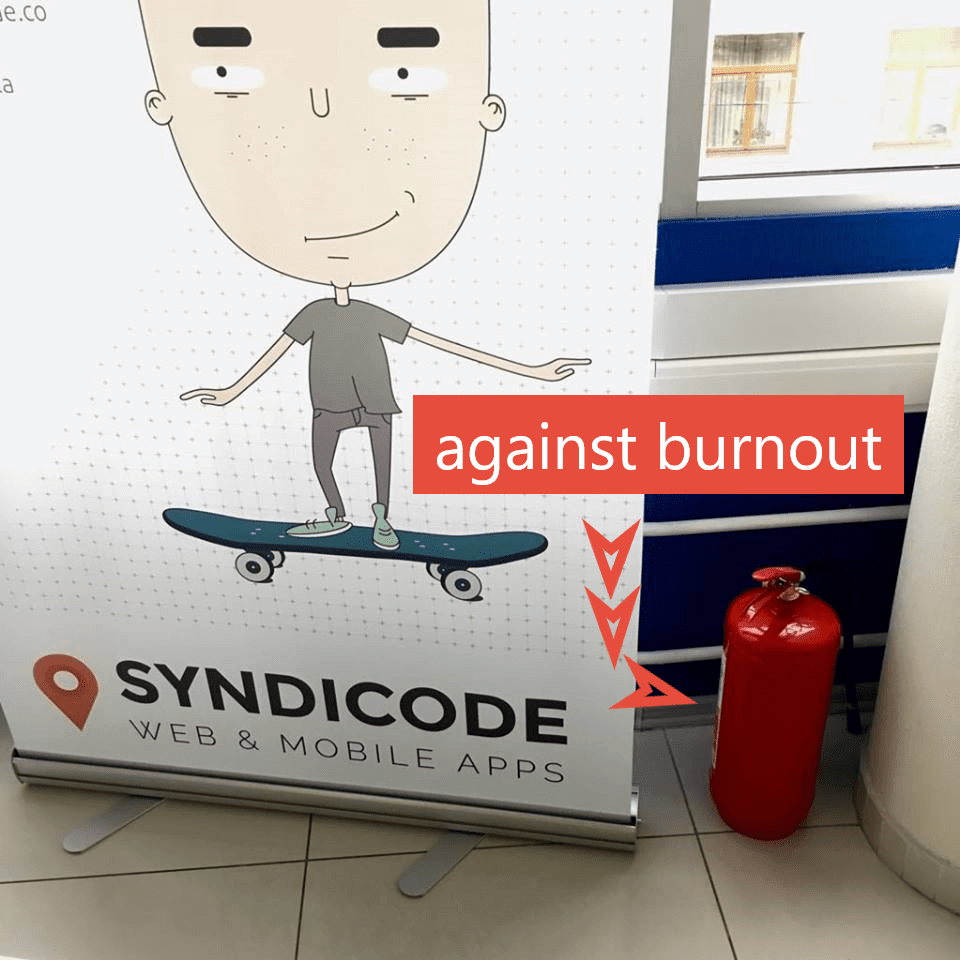 Preventing the programmer's burnout. Syndicode humor