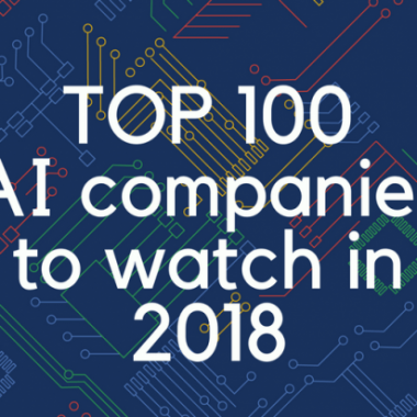 TOP 100 AI companies to watch in 2018