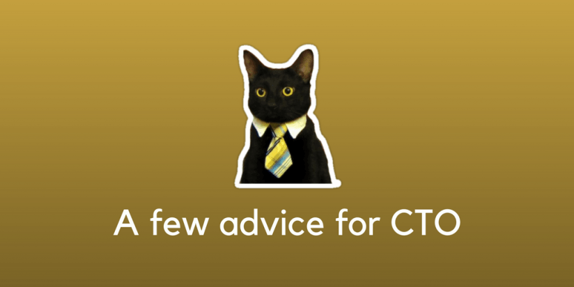 A few advice for the future CTO. Syndicode news