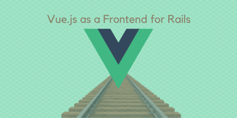 The instruction on how to use Vue.js as a Frontend for Rails. Syndicode news