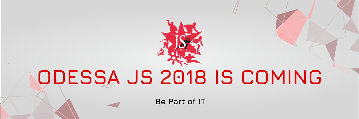 Odessa JS conference is coming on 6-8 July! Syndicode events. JavaScript