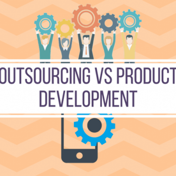 Why not every company able to develop a product. Outsourcing vs product