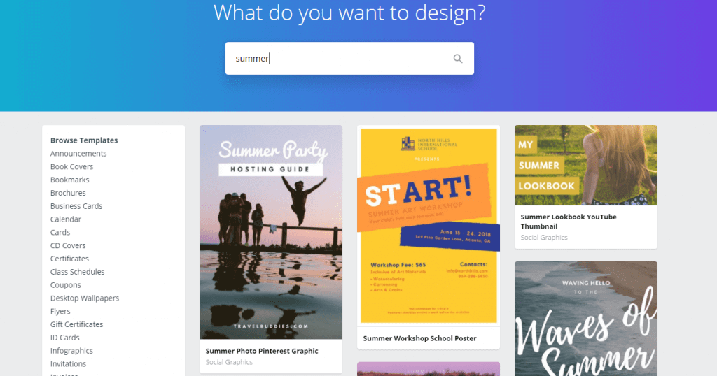 Canva's Design Wiki. Syndicode news. Templates