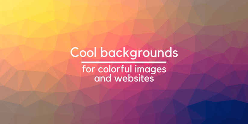 Cool backgrounds to create colorful images and websites. Syndicode news