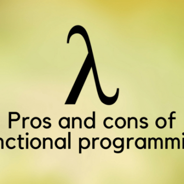 Pros and cons of functional programming