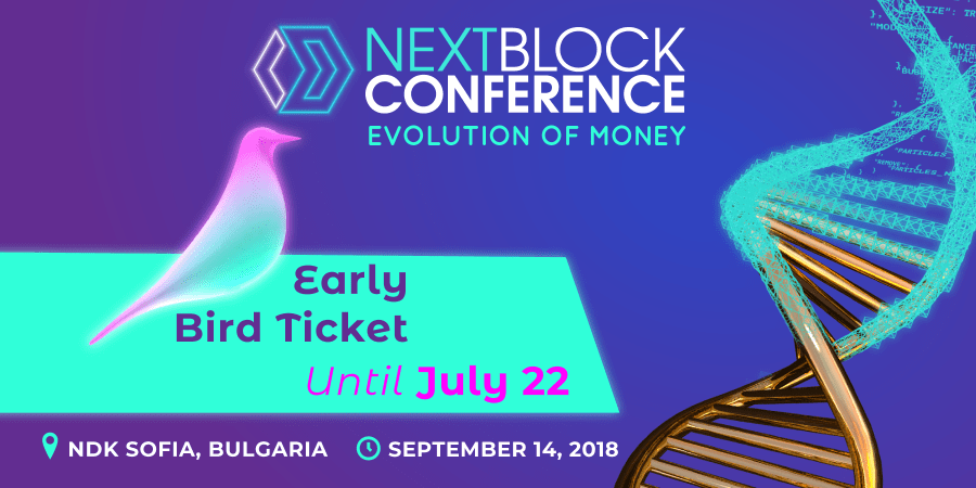 Visit NEXT BLOCK Conference in Sofia! Syndicode event