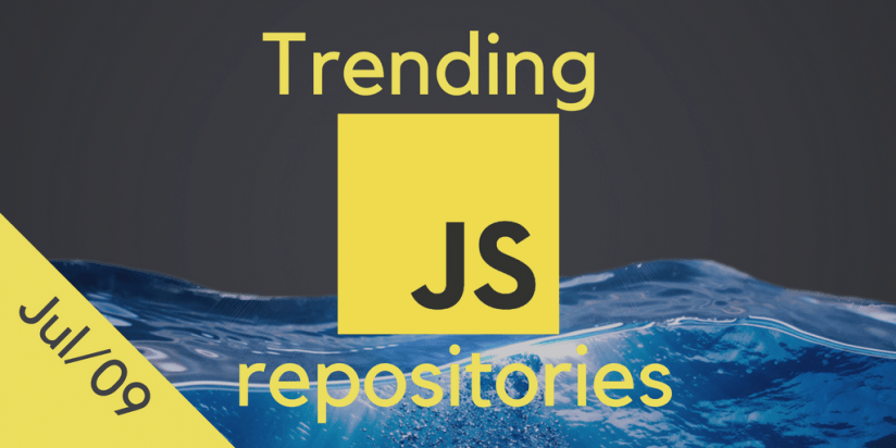Weekly most popular JS repositories. Catch the wave. JS digest