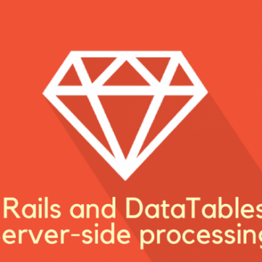 Ruby on Rails and DataTables plug-in. Server-side processing