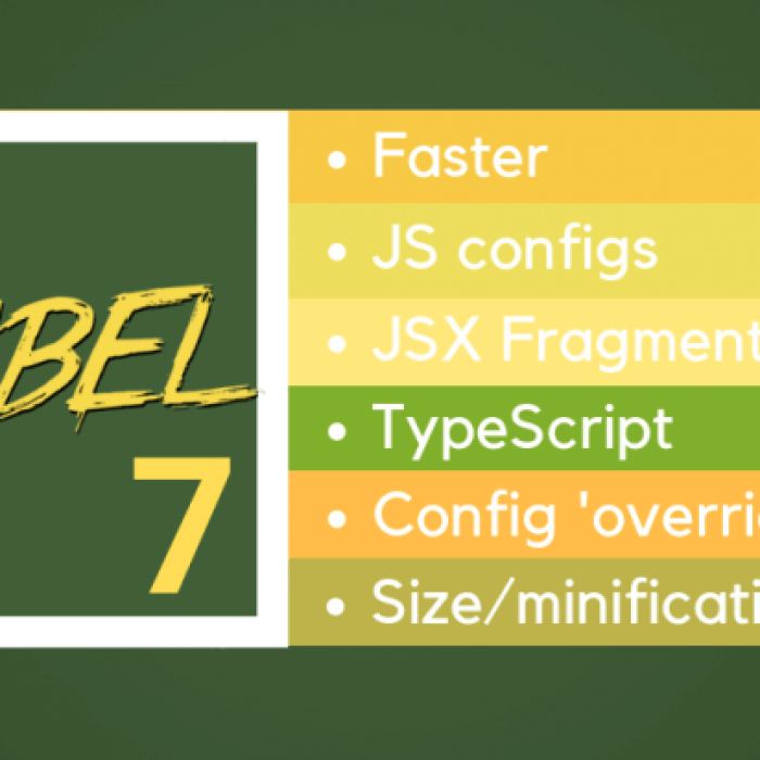 After 3 years, meet Babel 7 huge release! Fast as never before!