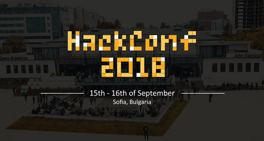Two weeks left until software development conference HackConf 2018! Syndicode event