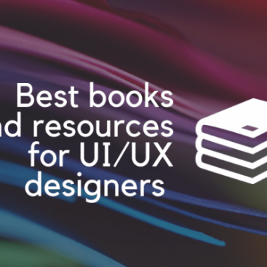 Best books and resources for UI/UX designers in 2019