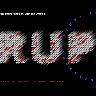 Join the biggest interface design conference in Eastern Europe — KRUPA 2019!