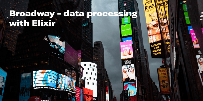 Broadway is a concurrent and multi-stage data ingestion and data processing with Elixir