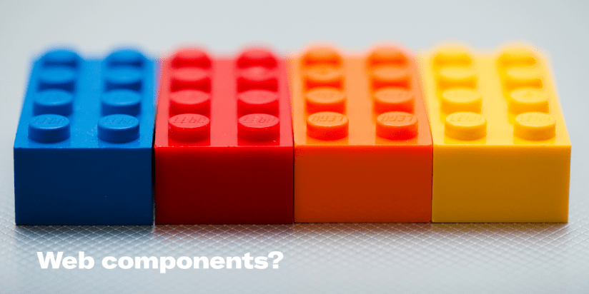 What do you know about Web Components?