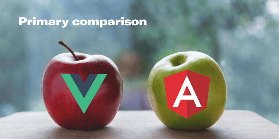 Primary comparison of Vue.js and Angular.js. Syndicode news