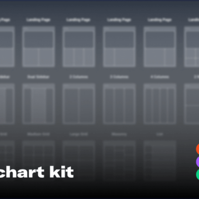 Awesome UX Flowchart kit for Sketch and Figma