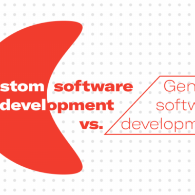 Custom software development vs. Generic software development