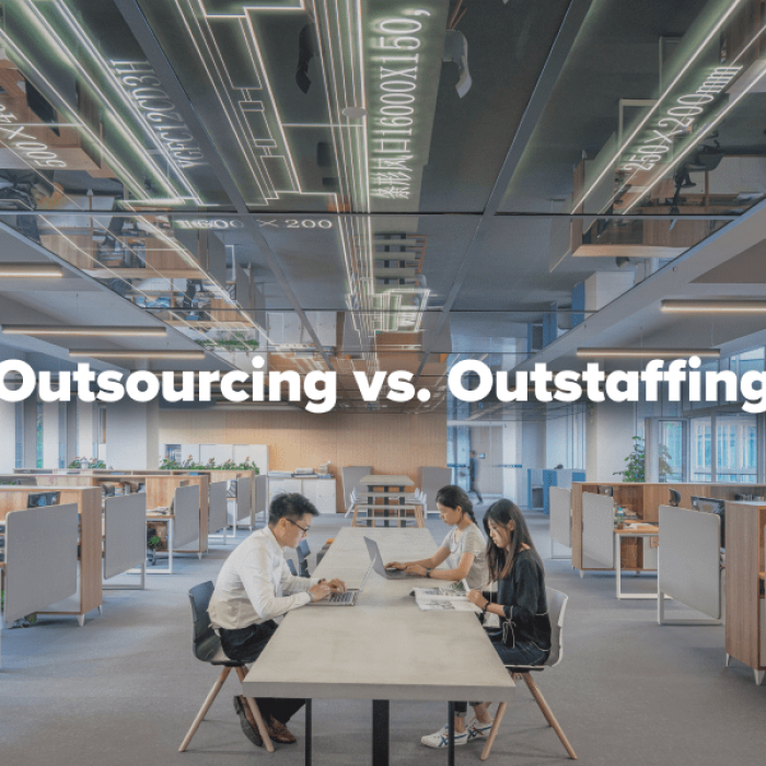 Outsourcing vs. Outstaffing